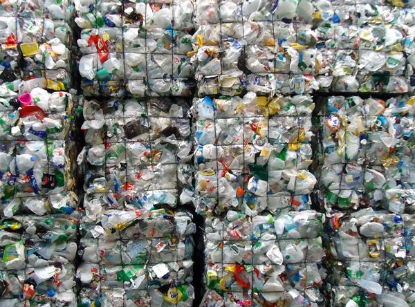 Mixed Plastics Bottles